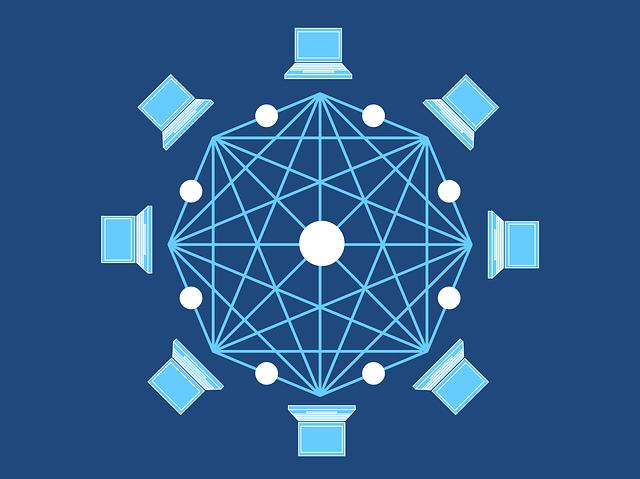 propojení blockchain