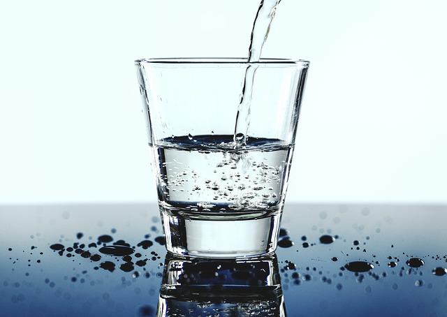 nalévaná voda