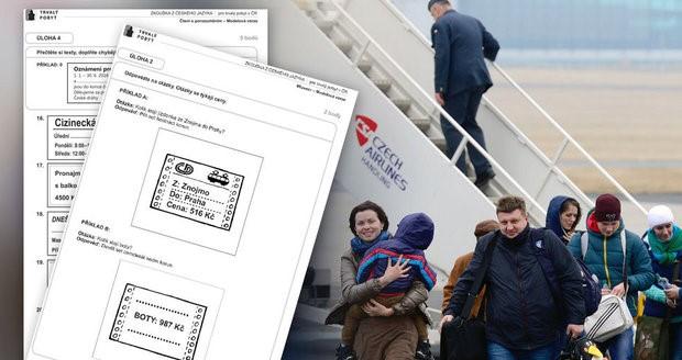 uložení víza